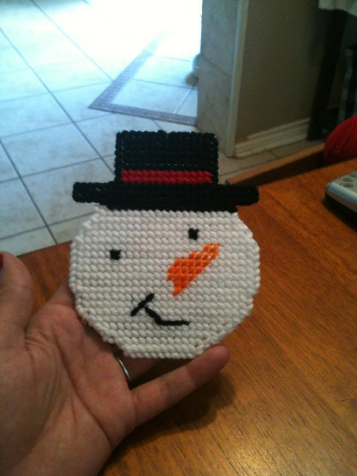 Snowman coasters for sale 20.00 for the set.