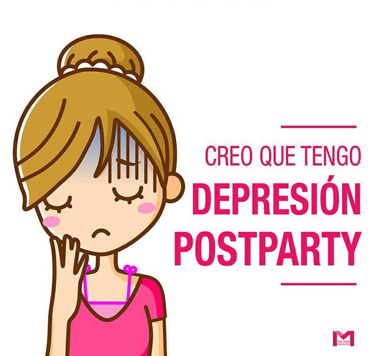 Creo que tengo depresión post-party
