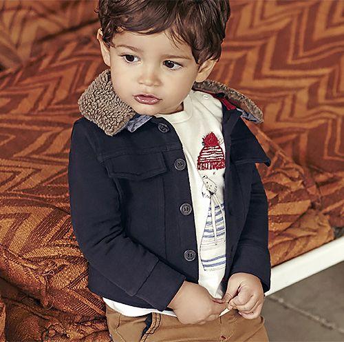 Look bébé garçon, collection IKKS Baby Automne-Hiver 2016 #fw16