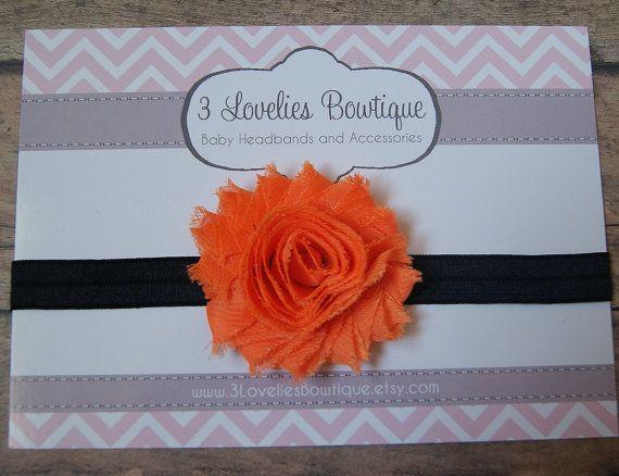 Halloween Headband..Newborn Headband..Baby by 3LoveliesBowtique, $3.50