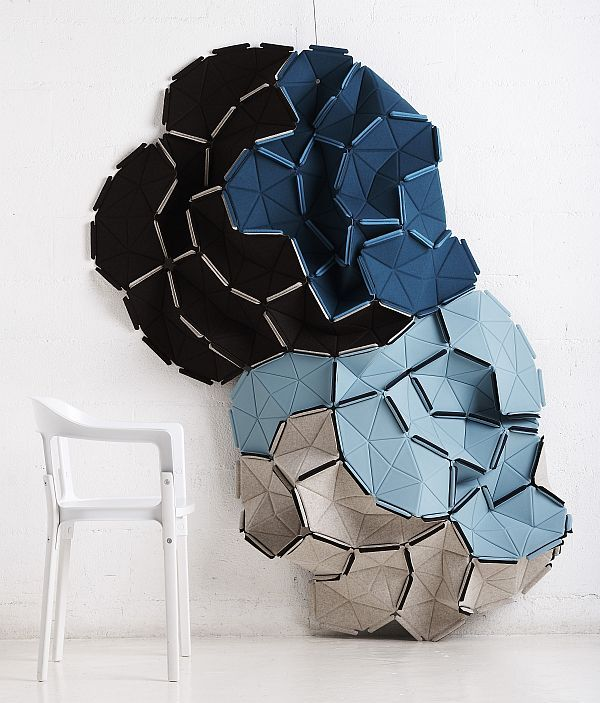 Bring your own style to your home with Clouds designed by Ronan and Erwan Bouroullec for Kvadrat