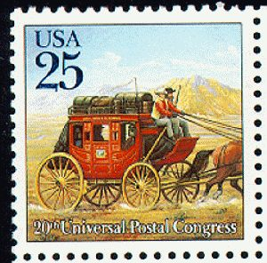 Old Us Postage Stamps Value | US Stamp Gallery >> Stagecoach
