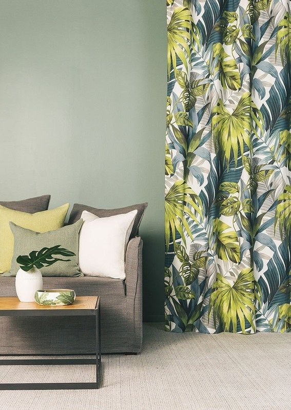 Aruba from the Evergreen collection available from James Dunlop Textiles