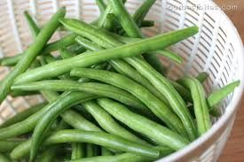 Image result for fresh green bean recipes with bacon and onion