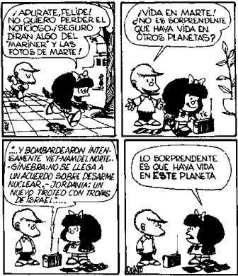 Mafalda Quotes on                                                                                                                                                                                 Más