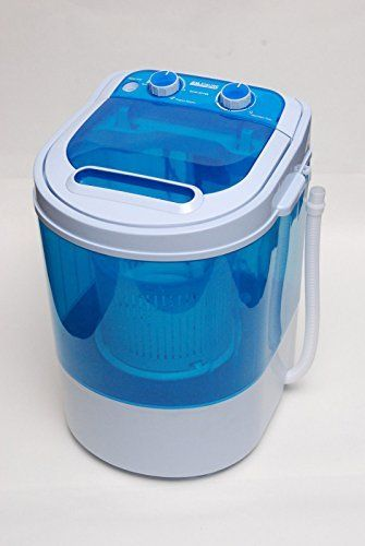 PORTABLE 230V MINI WASHING MACHINE IDEAL FOR CARAVAN MOTORHOMES  SPIN DRYER FUNCTION PORTABLE WASHING MACHINE MOTORHOMES FUNCTION is rated as one of the most popular items bought online in Appliances category in UK. Click below to see its Availability and Price in YOUR country.