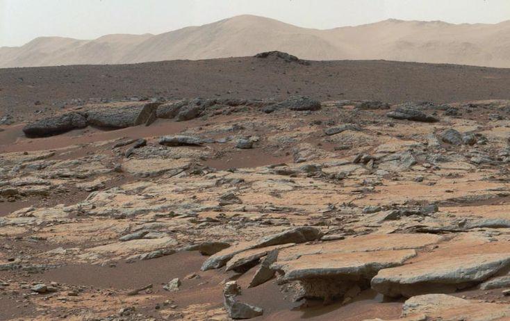 Sonneneruptionen reißen Mars-Atmosphäre weg - SPIEGEL ONLINE