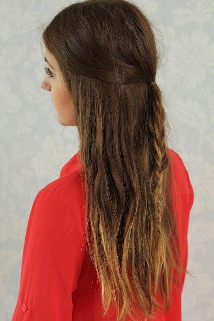 HOW TO: half up fish tail braid via: Alex Crabtree Hair Stylist so boho chic!