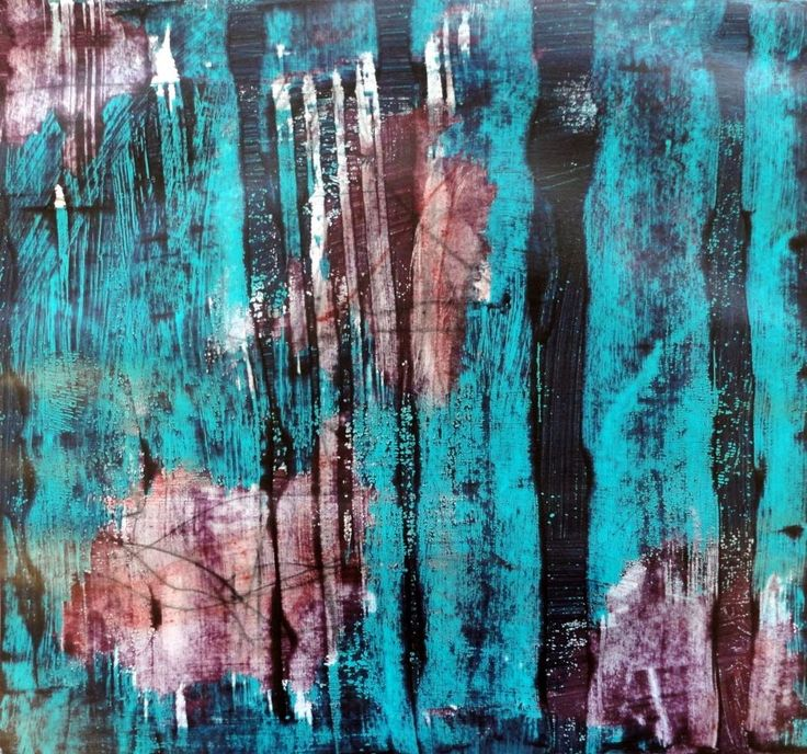 Spannende Strukturen in Acryl -  exciting structures with acrylics   Nr 10