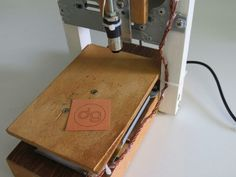 A DIY laser engraver build using DVD and CD-ROM/writer