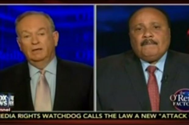 """(1) Dec 18 - Bill O'Reilly: Black people should wear """"Don't get pregnant at 14"""" T-shirts - """"I don't mind President Obama saying to LeBron James, 'Look, I'm with you.' And that's what he did,"""" O'Reilly mused. """"But he also has to provide some leadership in the sense of saying just what you said. Just exactly what you said. You know what, we fight the injustice and we realize it's there, but we love our country, we applaud the progress we've made, and here is a pathway to success."""