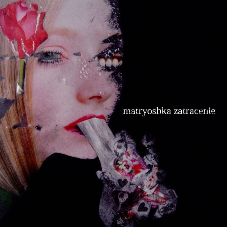 2007.07.07 matryoshka - zatracenie [Novel Sounds UNS-014] artwork by Aya Sacuraco (彩櫻恋 aka 吉本彩子 Ayako Yoshimoto) #albumcover