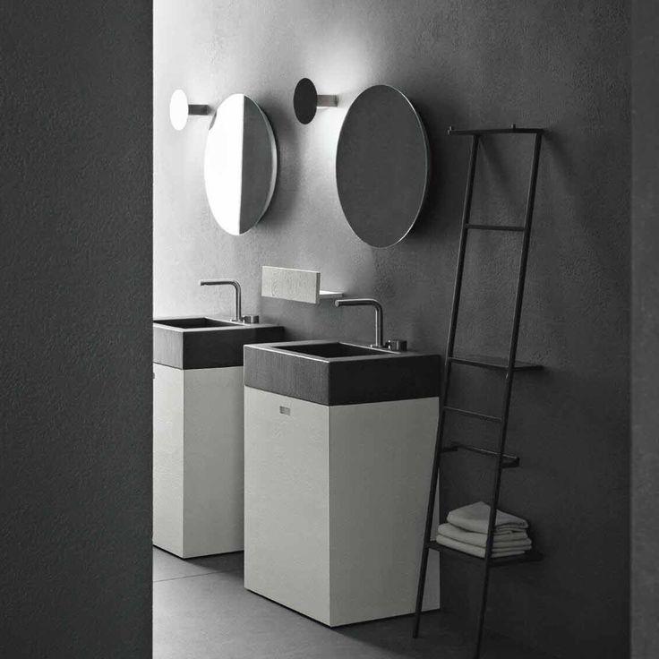 34 best novello || arredo bagno images on pinterest | bathroom ... - Composizione Arredo Bagno