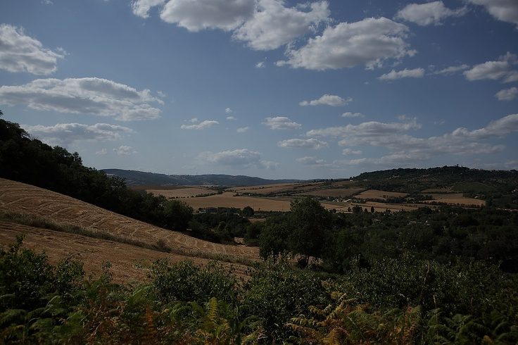 driving to Saturnia