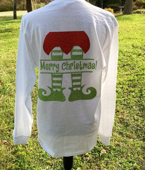Elf Shirt - Christmas Shirt - Merry Christmas Shirt