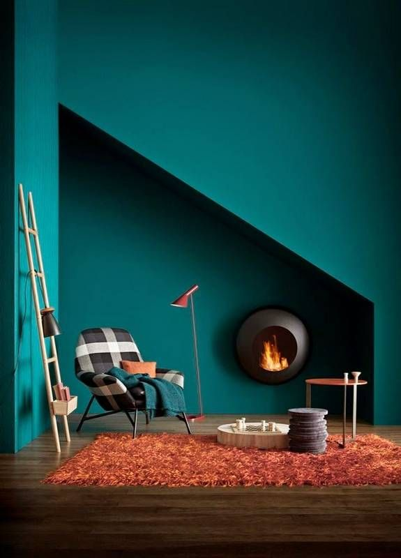 Teal Wall Paint | Domino