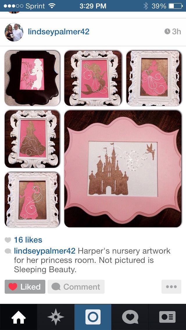 Disney princess room.