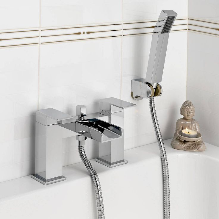 Metro Waterfall Bath Shower Mixer Beautiful Tap And Head