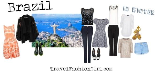 What to Pack for Trips to Brazil: Packing List and Fashion Tips Printed Dress / Daisy Dress / Kimono Cardigan / Floral Crop Top / Topshop Top / Denim Shorts / Chain Detain Top / Metallic Sweater / Slim Jeans /Pleated Trousers / Metallic Sandals / Boots / Woven Sandals
