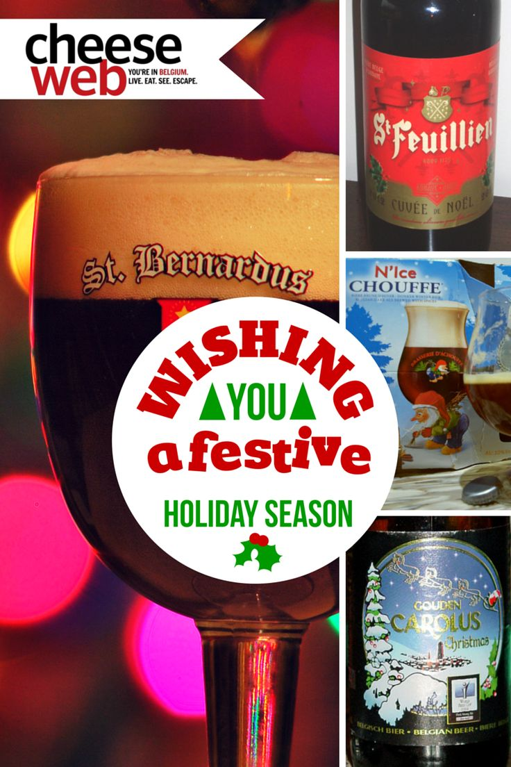 Andrew gets in the holiday spirit by discussing the best Belgian Christmas and Winter beer.