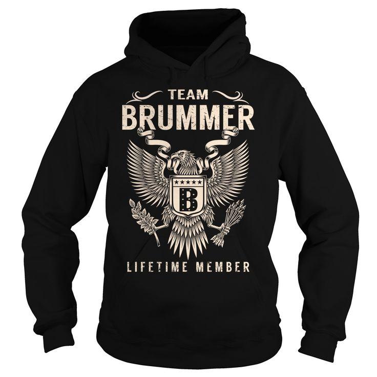 Team BRUMMER Lifetime Member - Last Name, Surname T-Shirt