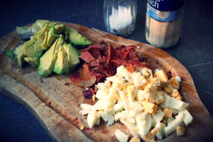 Rezept: Avocado-Ei-Aufstrich mit Bacon
