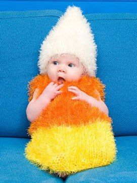 candy corn baby halloween costume. It may take me from now until Halloween to make this, but I will figure it out!