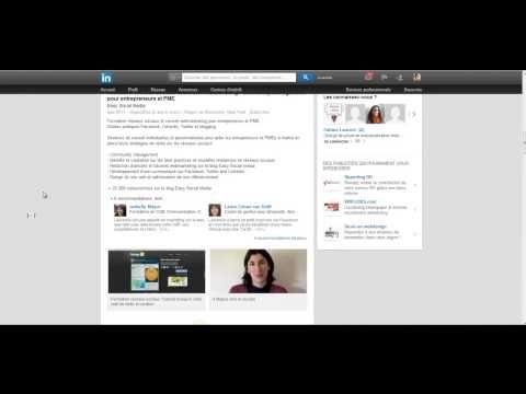 Profil Linkedin, le booster avec les témoignages - YouTube