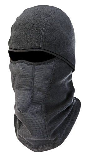 Wind-Resistant Hinged Balaclava for staying warm camping in a tent with tips to stay warm when camping