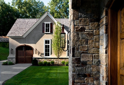 42 best stucco homes images on pinterest exterior design for Stucco garage