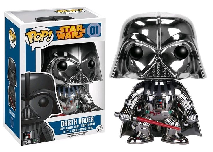 Pop! Vinyl - Star Wars - Darth Vader Chrome