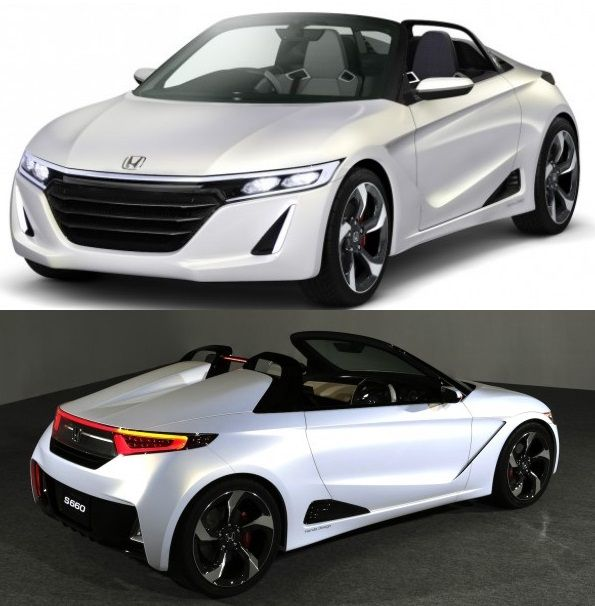 Honda S660 Concept will be official unveiled at the 2013 Tokyo Auto Show.