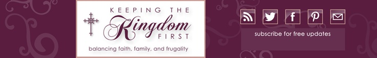KingdomFirstMom.com — Balancing Faith, Family and Frugality with Couponing, Drugstore Deals & More!