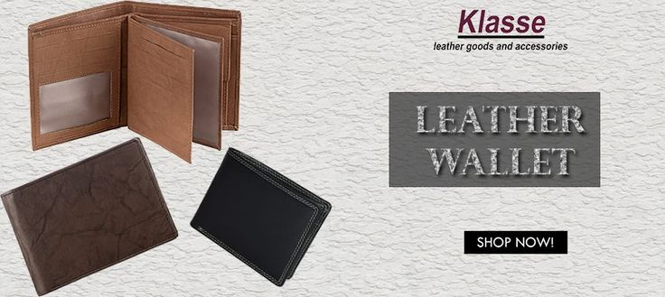 The Strongest and Softest Leather Wallets for Men is available at www.klasseleather.in! Shop Now! #Leather #Wallets