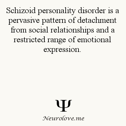Personality Disorder. Different from Schizophrenia although the general public often interchanges them. Psychology Facts