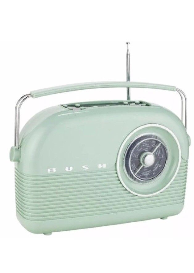 Power from the mains or pop in batteries to take your radio with you on a picnic or out in the garden. Features FM and DAB radio, headphone socket for personal listening and alarm with sleep timer. Retro styling with crystal clear dab radio. | eBay!
