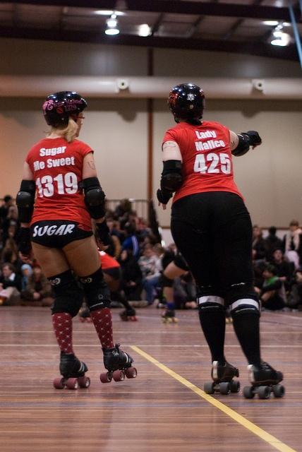 """South Sea Roller Derby  """"The Bout for Blood"""""""