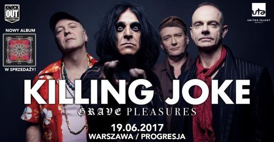 Heavy Metal Music & More  : Killing Joke: Czasówka koncertu w Warszawie