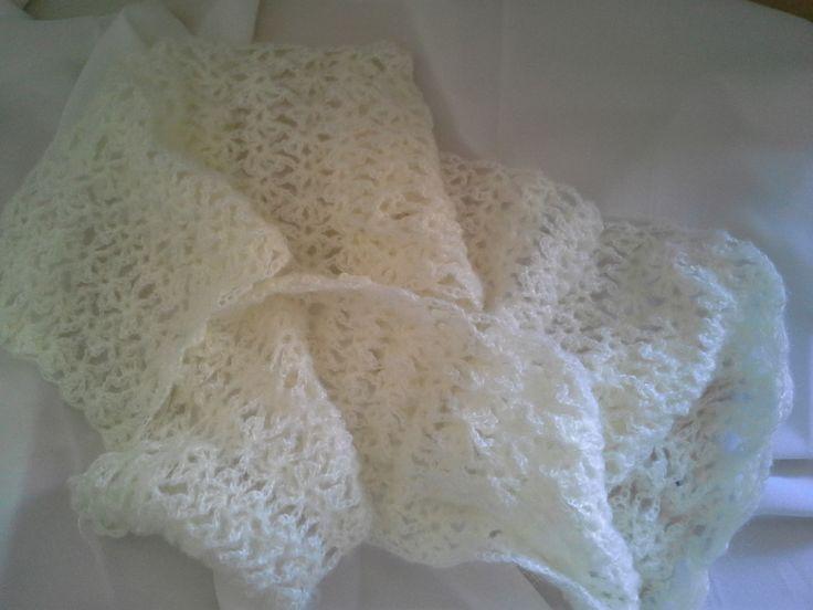 Ivory crochet wedding scarf mohair  https://www.etsy.com/au/shop/EVLovelyExpressions?ref=hdr_shop_menu