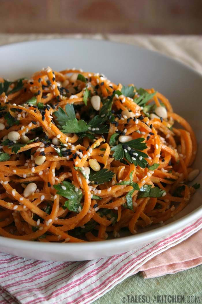 vegan carrot pasta + 13 other delicious carrot recipes.