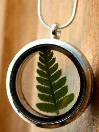 Fern Pendant | This jewellery features hand picked and pressed plants grown in a greenhouse by the designer herself! Some pieces also feature foraged natural items such as ferns, lichen and moss, leaves, and seashells gathered from Eastern Quebec and the Bas St-Laurent region. #torontofashion #CanadianDesigners #canadianfashion #canadianfashionblogger #madeincanada #canadiandesigner #canadianbrands #jewellery  #torontojewelry #canadian #necklace #pendant #locket #madeinquebec