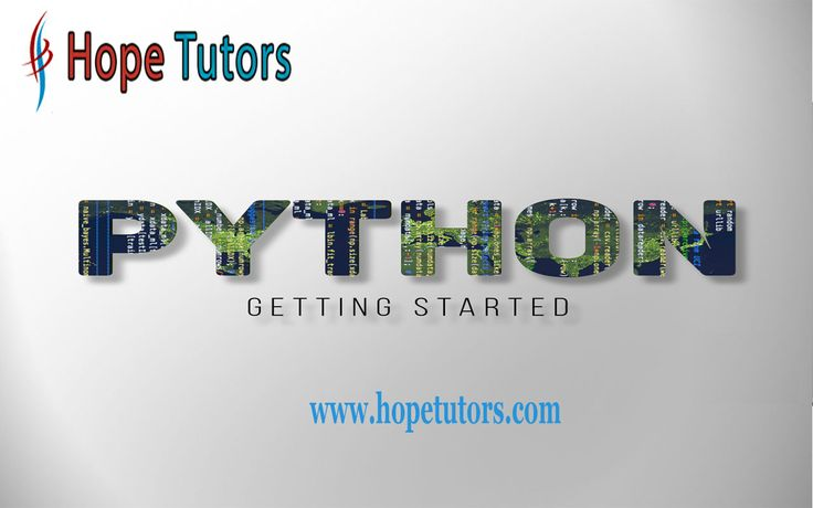Hope Tutor is the best Python Training center in Chennai , Velachery. Contact us for a FREE DEMO from our Python Training Institute.