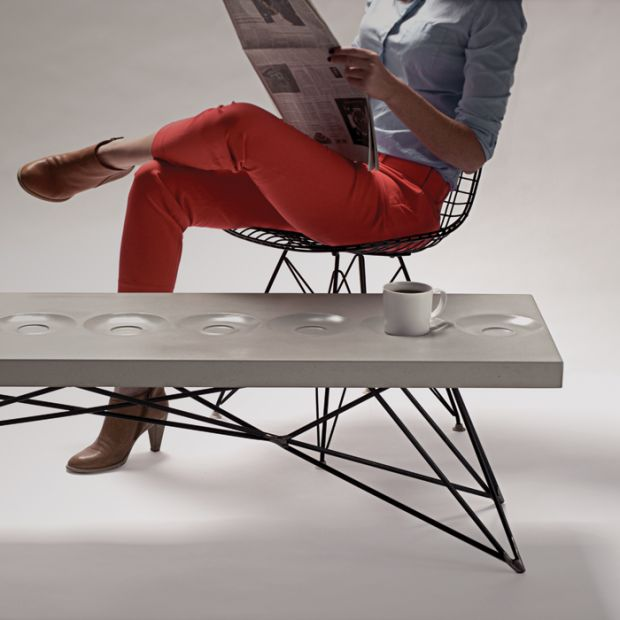 Hard Goods: Furniture out of Concrete // Orson coffee table