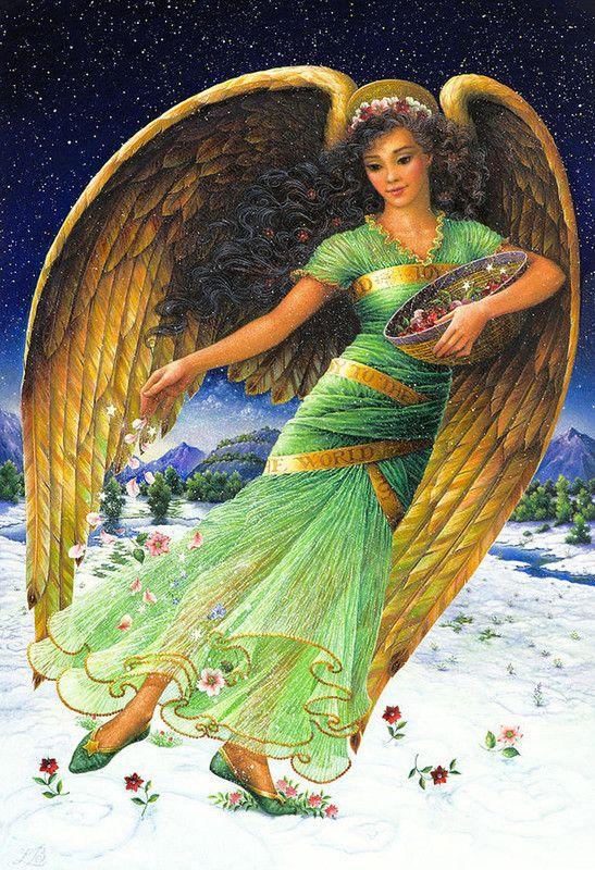Green Angel by Lynn Bywaters