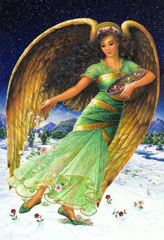 Green Angel by Lynn Bywaters