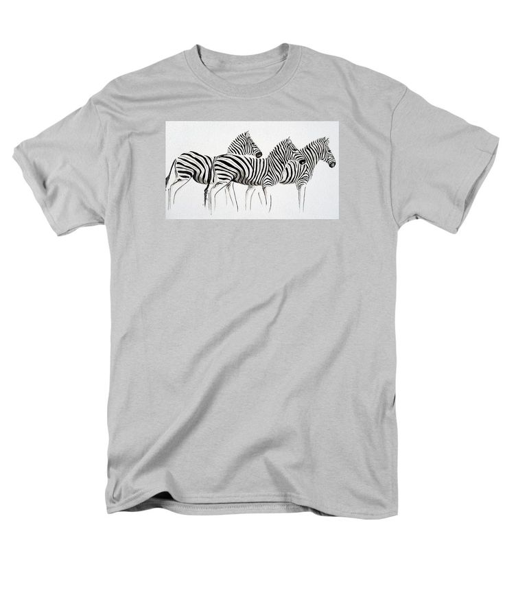 Zebra Scape T-Shirt by Tracey Armstrong