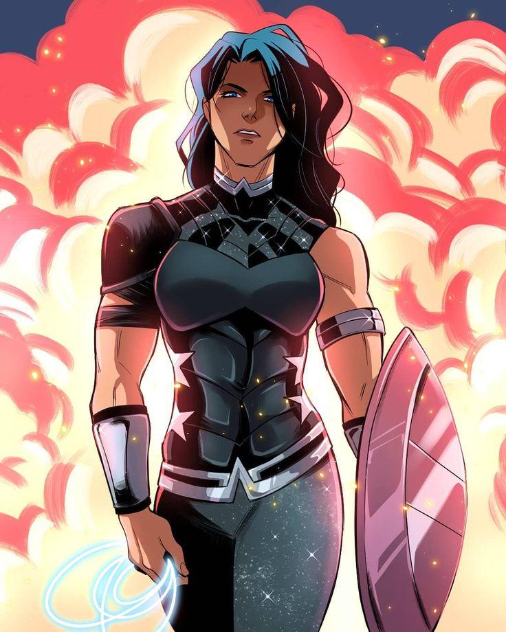 DC New 52 Power Girl back in her original costume