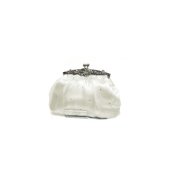 WEDDING HANDBAGS & CLUTCH BAGS - Bridal Handbags and Ivory Bags by... ($39) ❤ liked on Polyvore featuring bags, handbags, clutches, bolsas, purses, wedding, bride purse, ivory purse, bridal purses clutches and ivory handbag