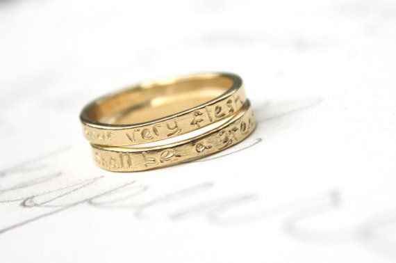 Wedding Rings Diffe Shade Of Gold