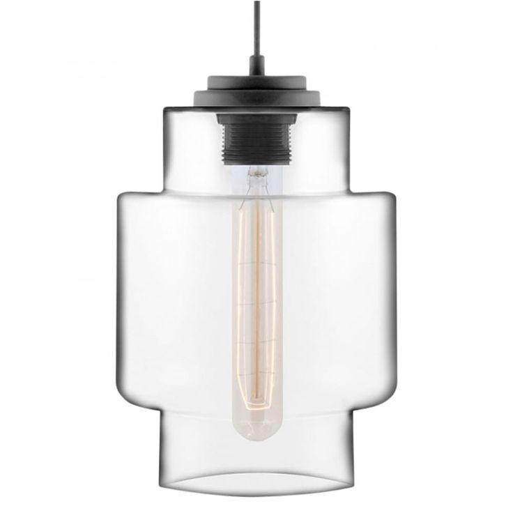 Edison Industrial Jupiter Pod Modern Pendant Light - Clear